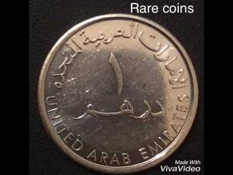 1 Dirham DUBAI COINS.Монеты Арабских Эмиратов.Qepik.numismatics.нумизматика. عملات نادرة