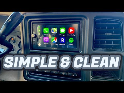 The Tahoe Is Back! | Apple Car Play Head Unit Installation