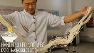 We Went to Noodle School and Learned How to Pull N...