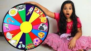 Shfa's Kids Story about Magic Wheel with family