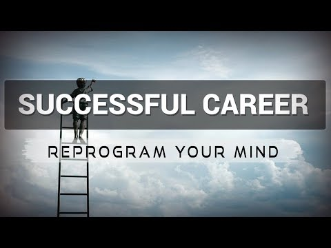 Successful Career  affirmations mp3 music audio - Law of attraction - Hypnosis - Subliminal