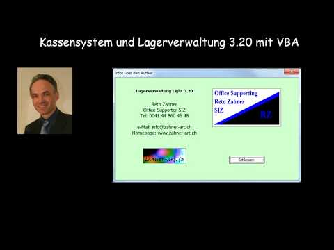 Kassensystem Und Lagerverwaltung 3.20 Mit VBA (Excel)