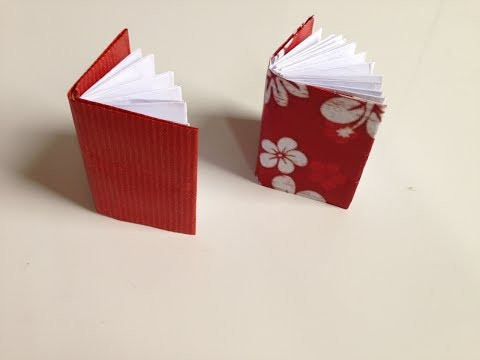 Diy Mini Origami Notebook | How To Make Origami Notebook | Paper Crafts
