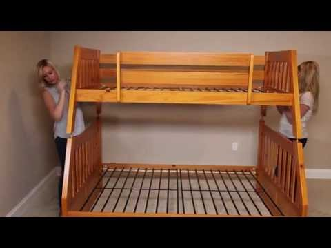 How to Build a Twin Over Full Bunk Bed from FactoryBunkBeds