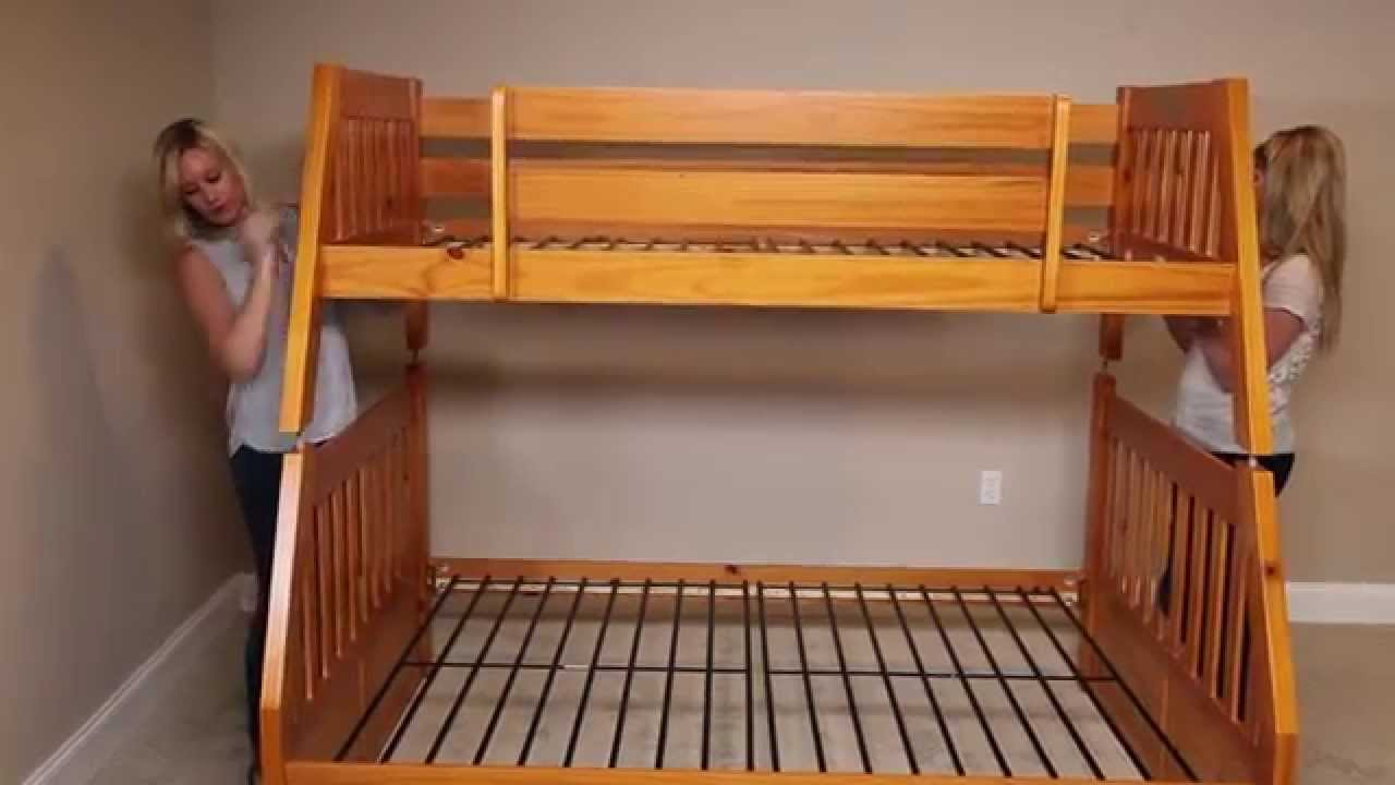 How To Build A Twin Over Full Bunk Bed From Factorybunkbeds Com