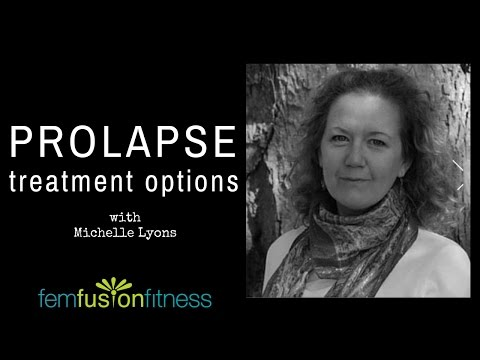 Non-Surgical Treatment for Prolapse w/ Michelle Lyons | FemFusion Fitness