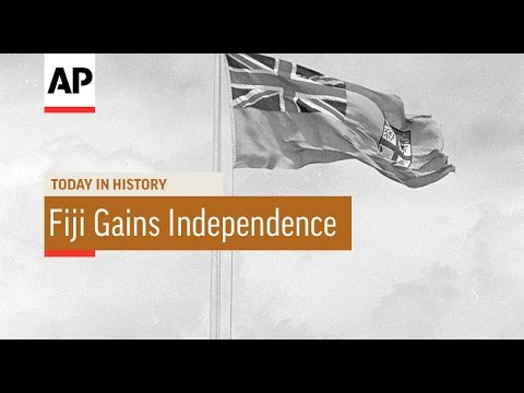 Fiji Gains Independence - 1970  | Today in History | 10 Oct 16