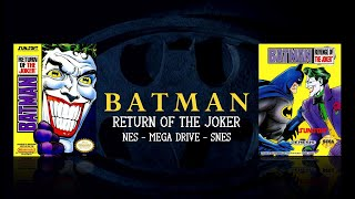 Batman Return Of The Joker  Nes Md Andamp Snes  Comparison - Triple Longplay