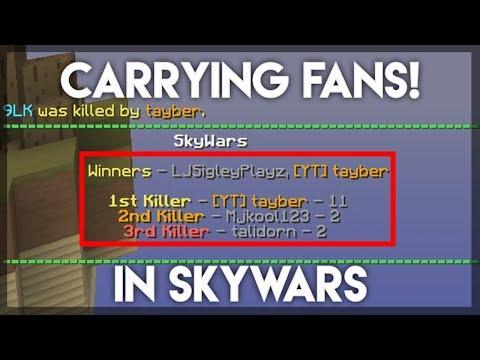 Carrying FANS in SKYWARS