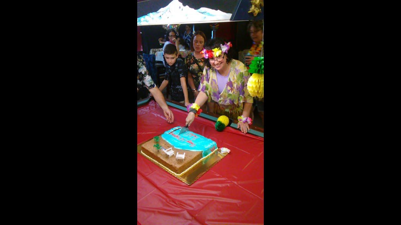 Rachels Surprise Hawaii 5 0 Birthday Party