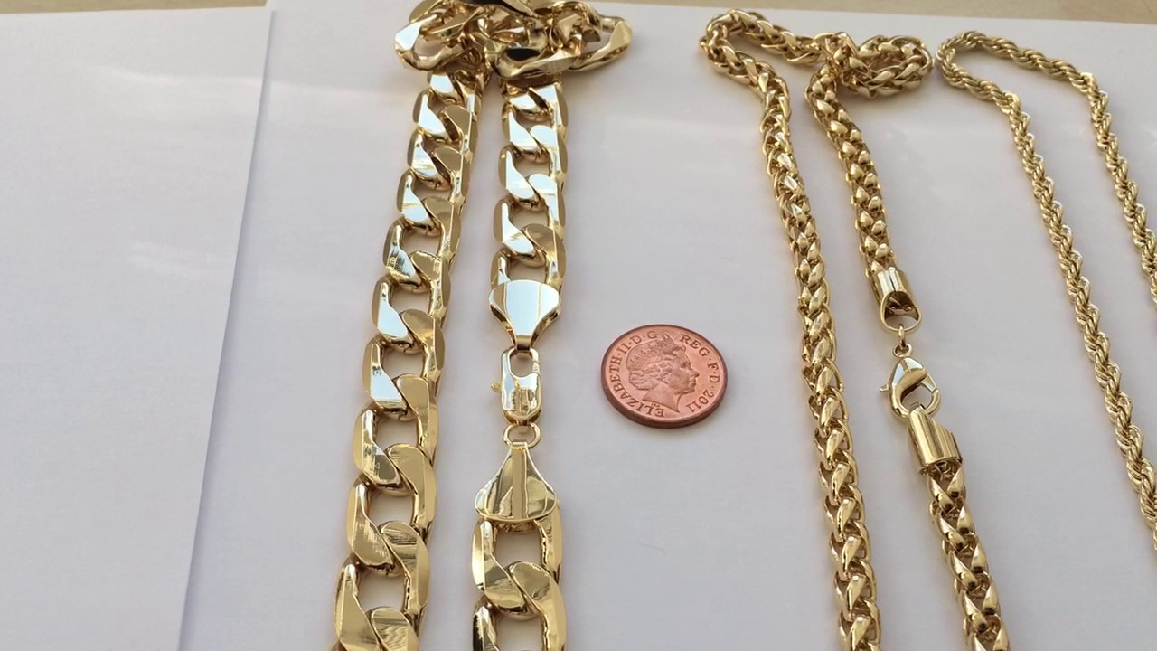 wholesale fall chain chains l handmade necklace cuban inch where link gold miami a does solid