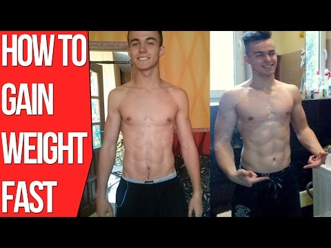 How To Gain Weight Fast For Skinny Guys (Bulking Diet Tips)