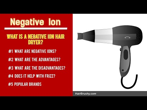 What Really Is A Negative Ion Hair Dryer And What Are The Benefits?