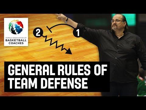 General Rules of Team Defense - Aleksandar Dzikic Partizan - Basketball Fundamentals