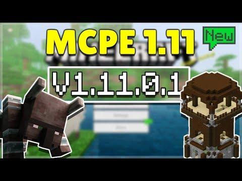MCPE 1.11.0.1 BETA VILLAGE & PILLAGE! Minecraft Pocket Edition NEW Campfires & More! thumbnail