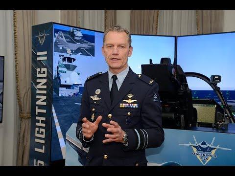 Royal Netherlands Air Chief Lieutenant General Dennis Luyt