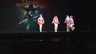 7 YEAR OLD RISING STAR-BEDAZZLED COMPETITION-1ST DANCE SHAKE SENORA
