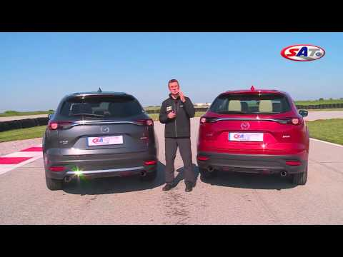 MAZDA CX9 – Road test drive by SAT TV Show