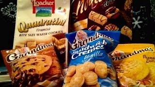 ASMR Cookies, Chocolate, Vanilla, America, Austria, Germany,Test, Crinkling, Newspaper, Whispering,