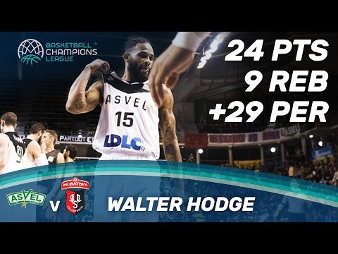 Walter Hodge (24 Pts / 9 Reb) is the man of the game vs. Usak Sportif