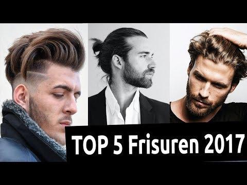 TOP 5 Männerfrisuren 2017 ● Männer Frisuren Check