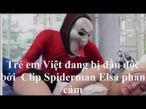 """Hoảng hồn phát hiện: Trẻ em Việt bị đầu độc bởi clip""""hoạt hình người lớn"""" phản cảm gắn mác Elsa"""