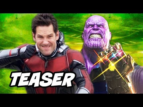 Download Youtube: Avengers Infinity War Ant Man Funny Suit Teaser Breakdown
