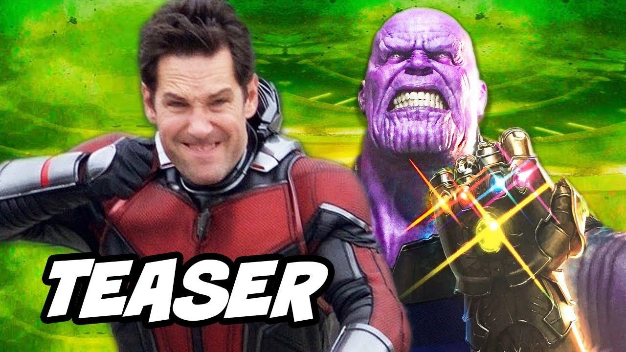 Avengers Infinity War Ant Man Funny Suit Teaser Breakdown