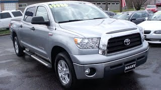2008 Toyota Tundra SR5 Walkaround, Start up, Tour and Overview