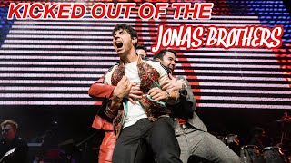 GETTING KICKED OUT OF THE JONAS BROTHERS    HAPPINESS BEGINS TOUR VLOG 1