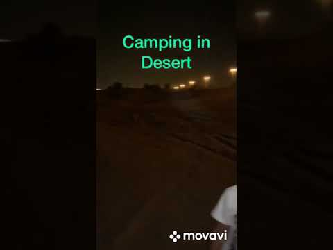 Dubai…..Camping in Desert Pls like n subscribe…..