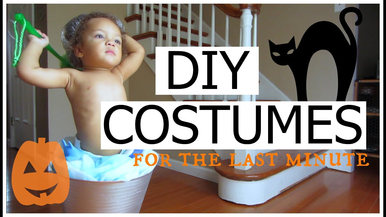 diy easy affordable last minute halloween costume ideas toddlers and kids youtube - Simple Toddler Halloween Costumes