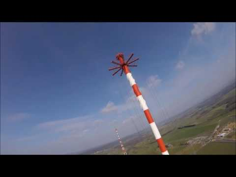 FPV Racing - Diving a Giant Broadcasting Tower