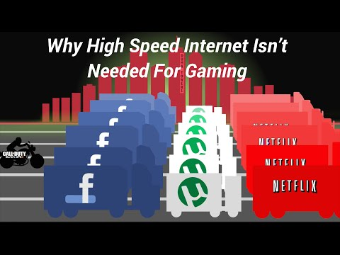 Do you NEED High Speed Bandwidth for Gaming? Network Myths 2