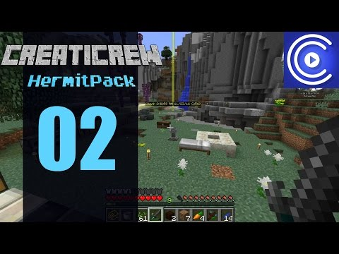 Minecraft HermitPack #02: Getting Into The Groove