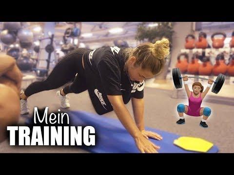 MEIN TRAINING mit Personal Trainer - ich nehme euch mit | janasdiary