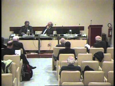 Convegno ex Parlamentari - On. Gianni