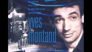 La chansonnette :  Yves Montand.. Video