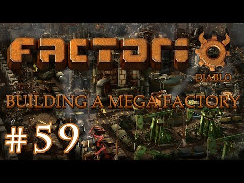 Factorio - Building a Mega Factory: Part 59 Finishing the new Iron smelting area.