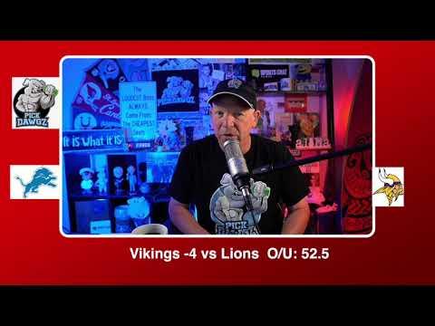 Minnesota Vikings vs Detroit Lions NFL Pick and Prediction Sunday 11/8/20 Week 9 NFL