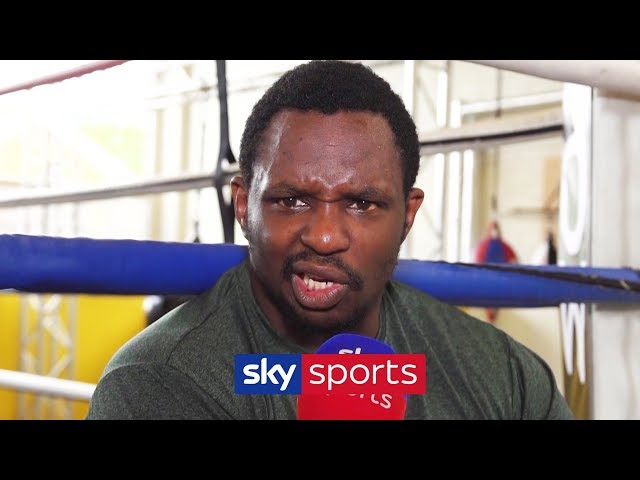 'WILDER IS AN IDIOT! HE TALKS NONSENSE!'- Dillian Whyte on Wilder, turning down the AJ fight & Rivas