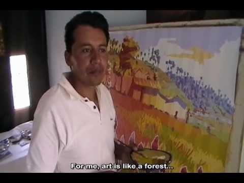 Sergio Alvarado - Guatemalan artist