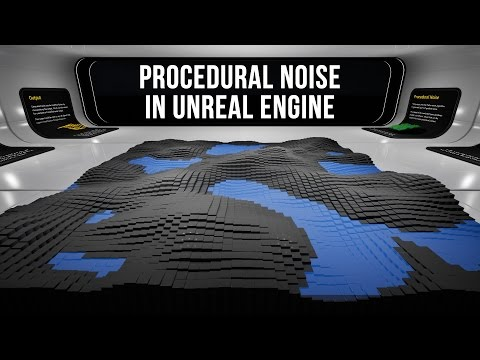Perlin Noise & Procedural Mesh Blueprint in Unreal Engine