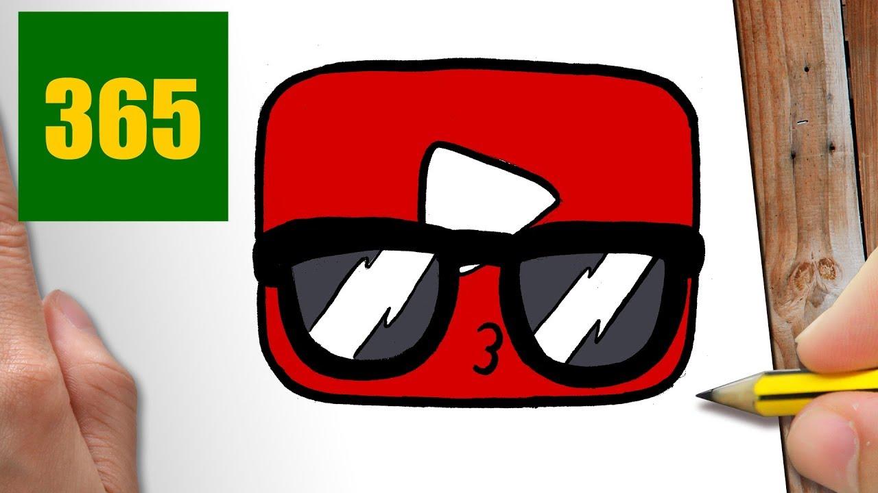 Comment Dessiner Logo Youtube Kawaii Etape Par Etape Dessins