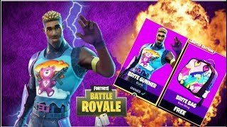 SWEATY SOLOS - NOUVEAU BRITE GUNNER SKIN! Fortnite Battle Royale .....