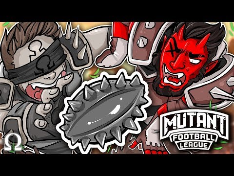 GOING FOR THAT HAIL MARY PASS! | Mutant Football League Ft. Cartoonz