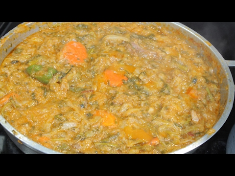 Easy Haitian Legume ( Vegetable Stew) Recipe