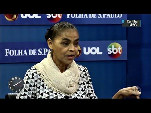 Marina Silva critica política de preços da Petrobras | SBT Brasil (24/05/18)