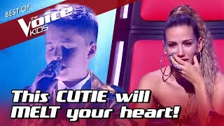 Cover images This TALENTED 11-Year-Old in The Voice kids will MELT your HEART