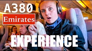 MY A380 EMIRATES EXPERIENCE